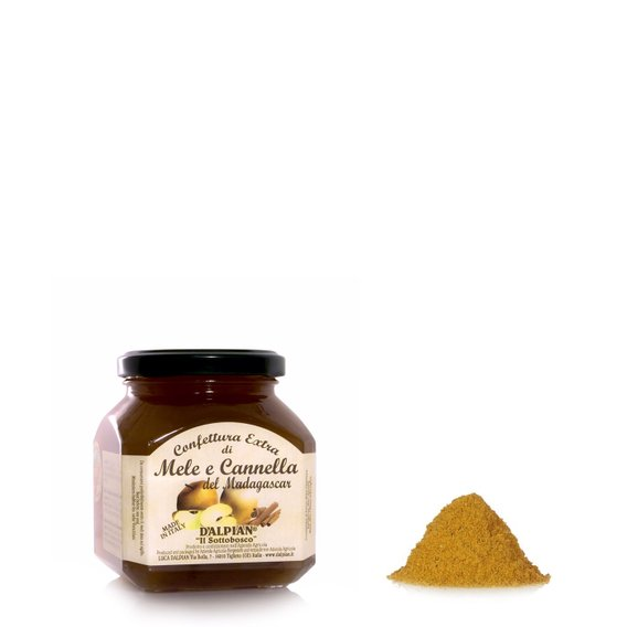 Confettura Extra Mele e Cannella 350g