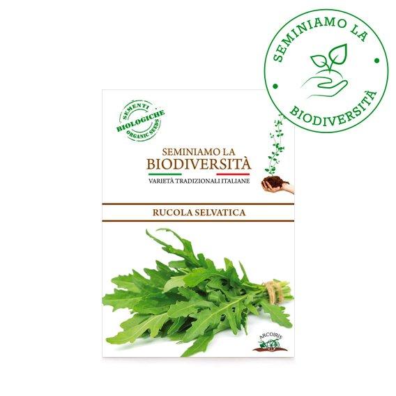 Semi Bio Rucola Selvatica r 3g