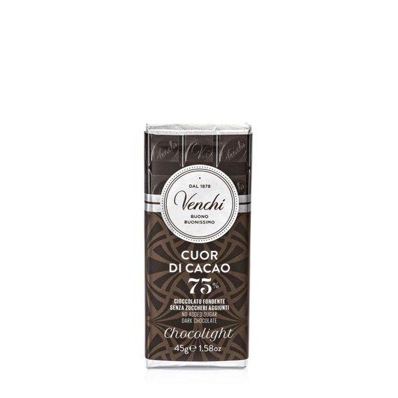 Tavoletta Cioccolato Fondente Light  45gr