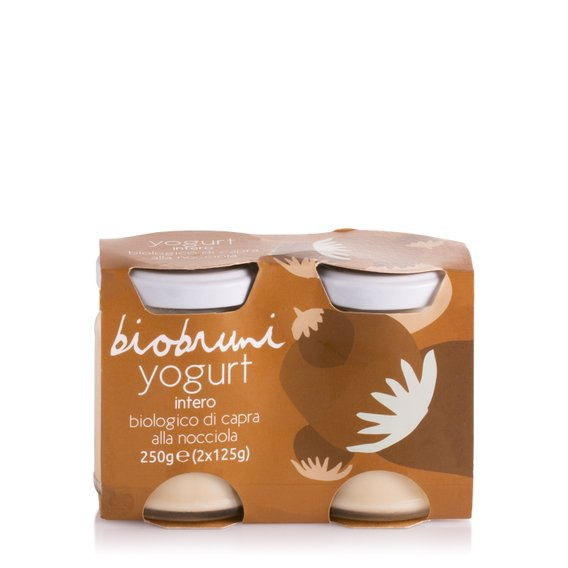 Yogurt di Capra Bio alla Nocciola  2x125g