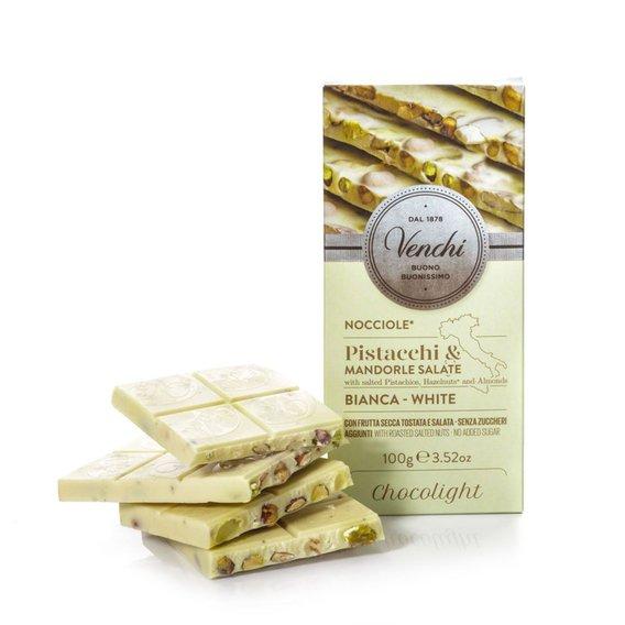 Tavoletta Cioccolato Bianco Salata Chocolight 100g