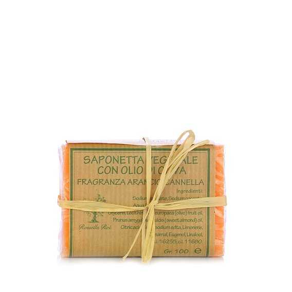 Saponetta all'Arancio & Cannella 100g