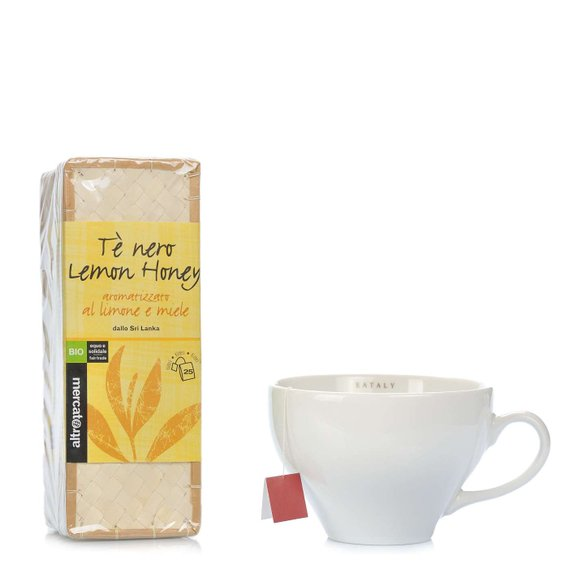 Tè Nero Lemon Honey 25 Filtri