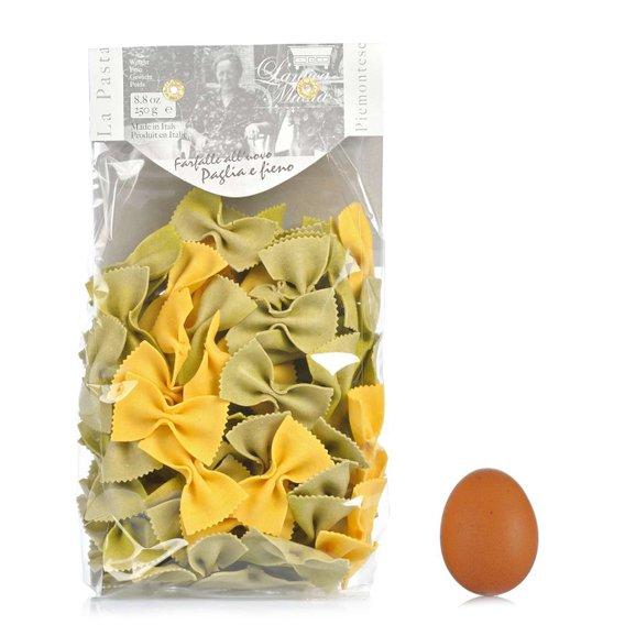 Farfalle all'uovo Paglia e Fieno 250 g