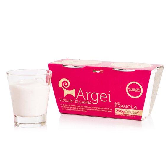 Yogurt di Capra alla Fragola 2x125g