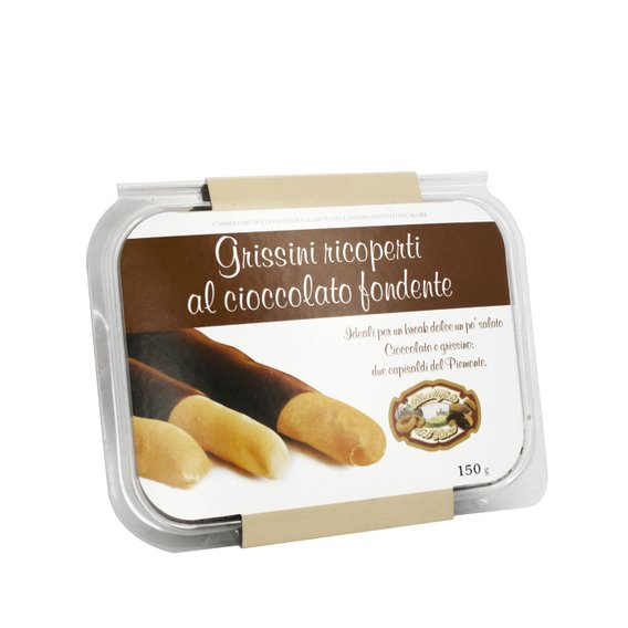 Grissini Ricoperti Al Cioccolato Fondente 150g