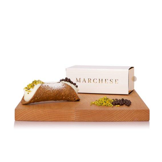 Cannolo Orlando Cioccolato e Granella di Pistacchio 1pz 150g