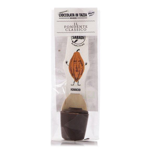 """Cioccolata in Tazza Extra Fondente """"Ignacio"""" 35g"""