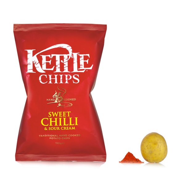 Patatine Chips al Peperoncino dolce 150g