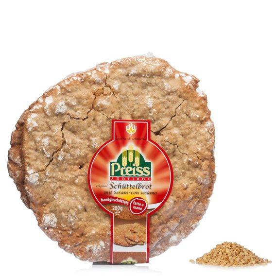Pane croccante al Sesamo 200g