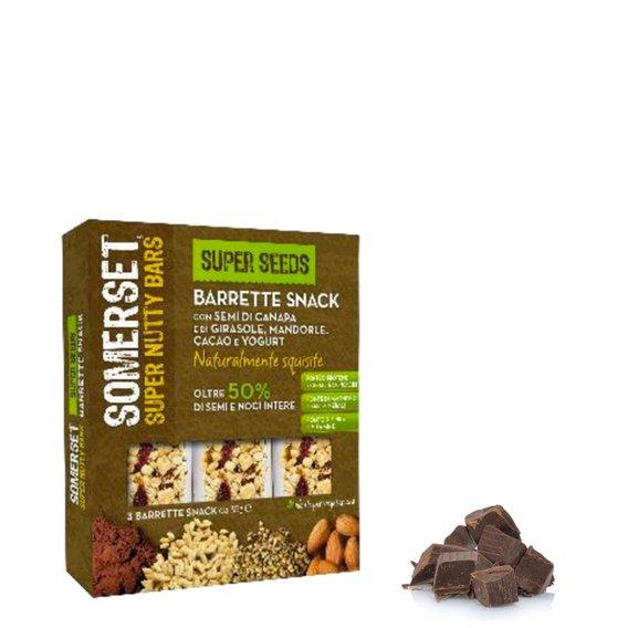 Barretta Semi Mandorla Cacao Yoghurt 3*35g