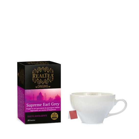 Supreme Earl Grey 20 Filtri 20 filtri