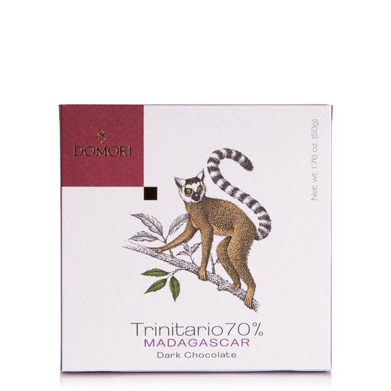 Tavoletta di Cioccolato con Cacao Trinitario 70% Madagascar 50g