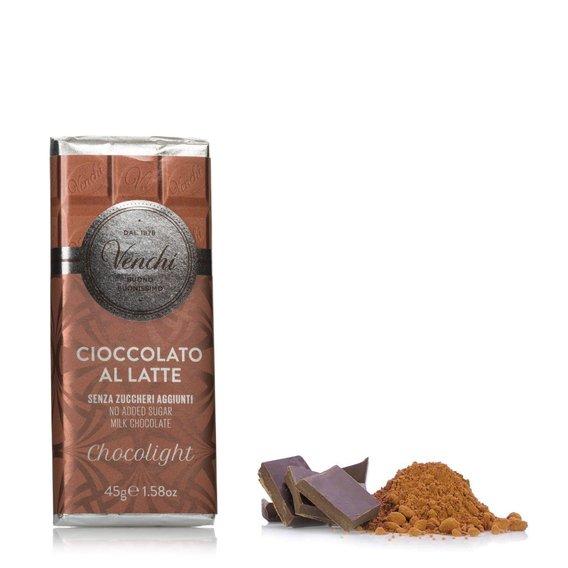 Tavoletta Cioccolato al Latte Light 45g