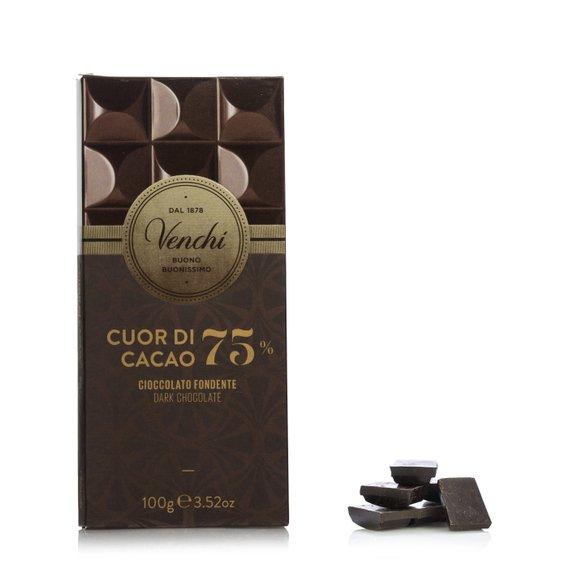 Tavoletta Cioccolato Extra Fondente 75% 100g