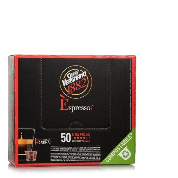 Espresso Cremoso 50 Capsule Compostabili