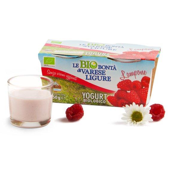 Yogurt ai lamponi 2x125 g