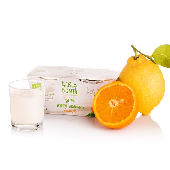 Yogurt Intero agli Agrumi Bio 2x 250g