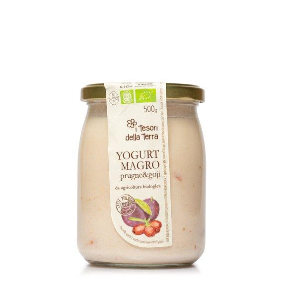 Yogurt Magro Prugne e Goji  500g