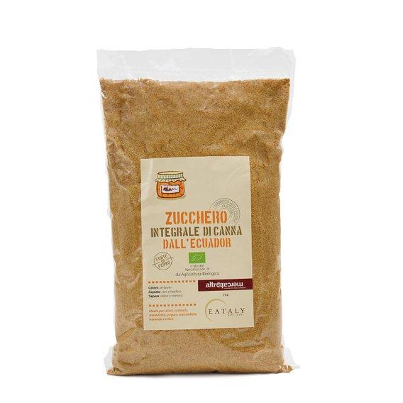 Zucchero Integrale di Canna dall'Ecuador 1 Kg 1kg