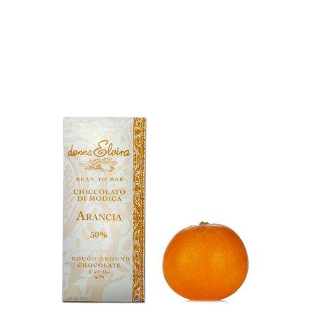 Cioccolato di Modica all'arancia 70g