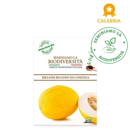 Semi Bio Melone rugoso di Cosenza giallo 2g
