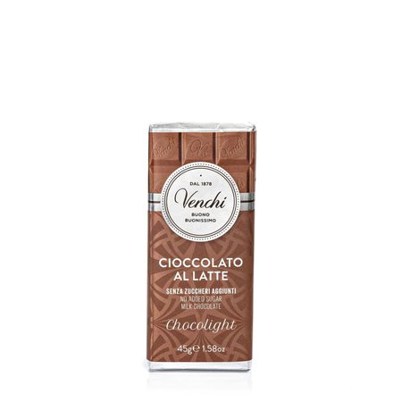 Tavoletta Cioccolato al Latte Light  45g