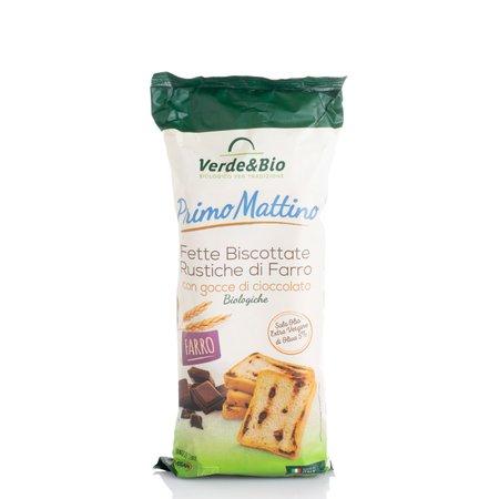 Fette Biscottate Bio al Farro e Cioccolato 180g