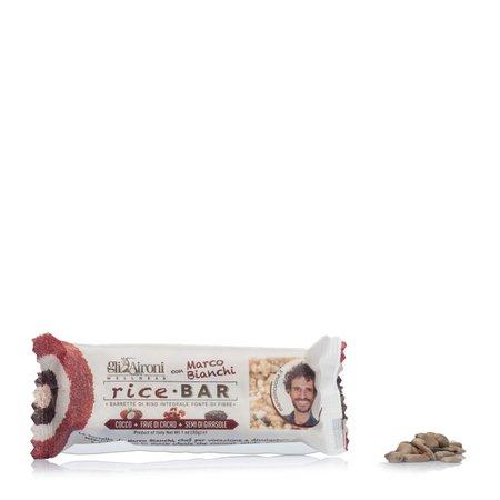 Rice Bar Cocco Fave di Cacao Semi di Girasole 30g