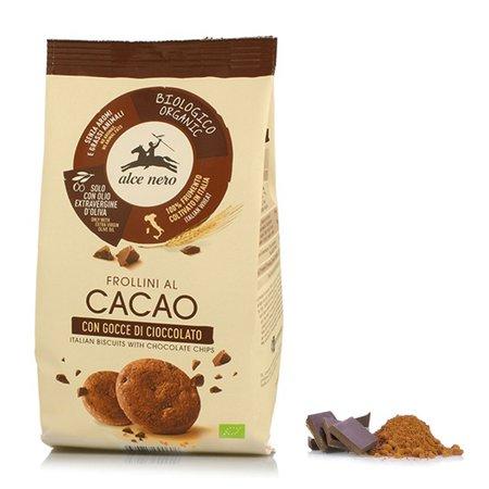 Frollini al Cacao con Gocce di Cioccolato 300g