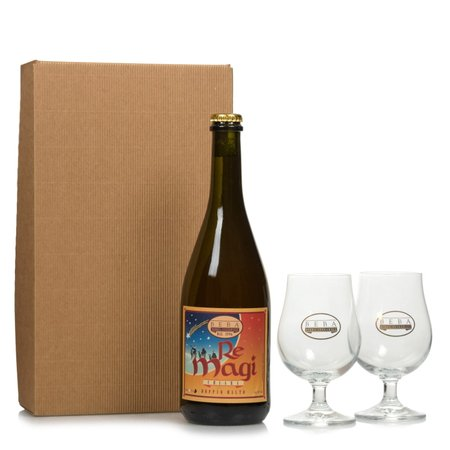 Birra Re Magi  0,75l con 2 Coppe