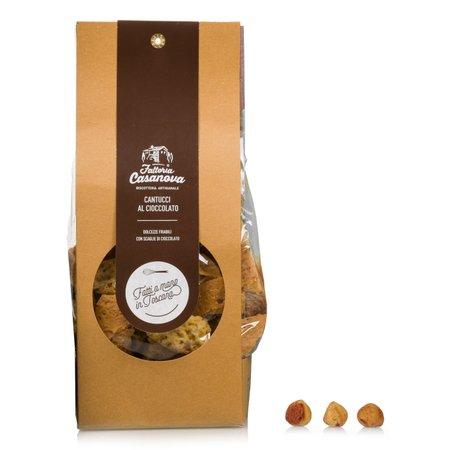 Cantucci con Pezzi di Cioccolato 200g