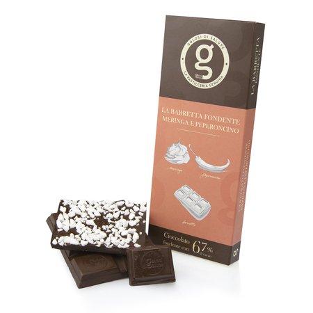 Barretta Cioccolato Fondente Peperoncino  85g