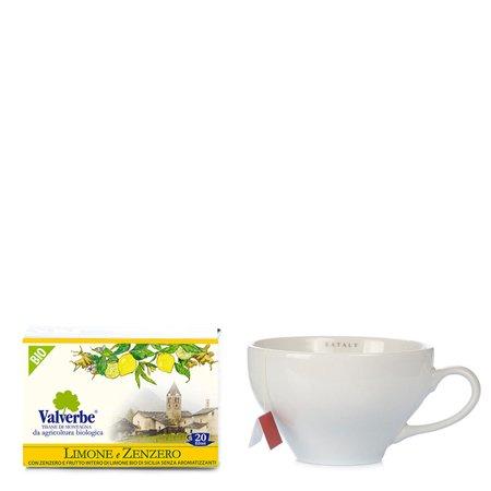 Infuso Limone e Zenzero 20 filtri 30g