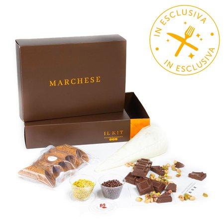 Kit Orlando Cioccolato e Granella di Pistacchio 5 Cialde