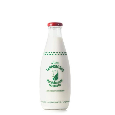 Latte Parzialmente Scremato Tapporosso  750ml