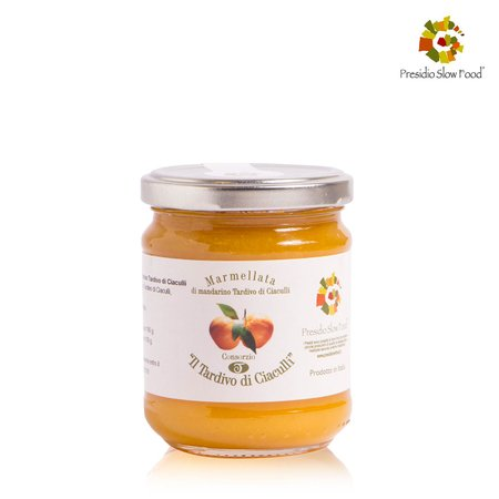Marmellata di Mandarino Tardivo di Caiculli 220g