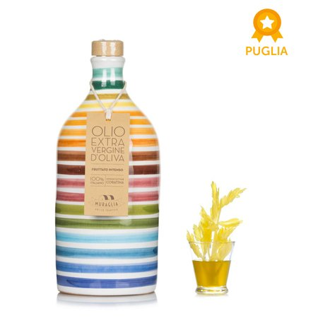 Olio Orcio Arcobaleno Monocultivar Coratina 0,5l