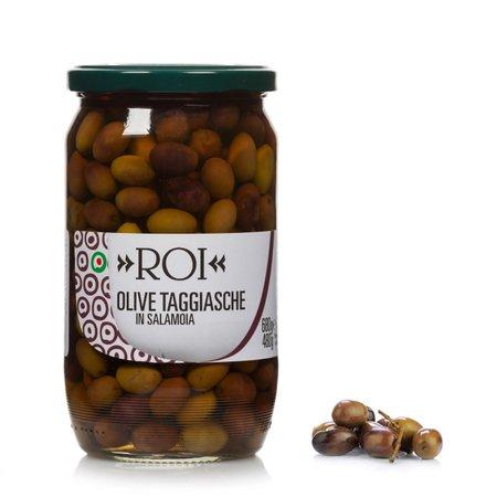 Olive Nere Taggiasche in Salamoia 680g