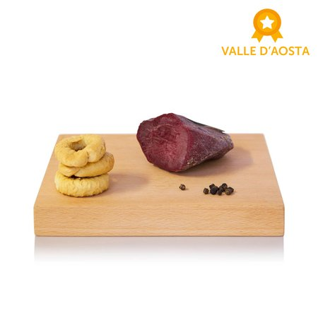 Trancio di Mocetta Valdostana di Carne Bovina 200g