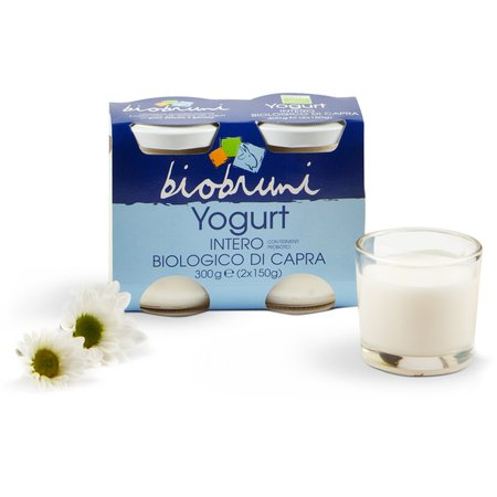 Yogurt Intero Biologico di Capra 2x150g
