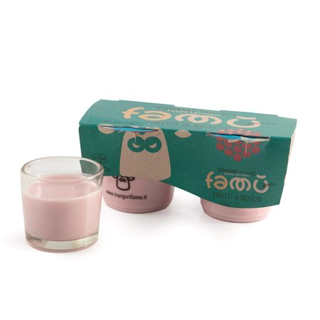 Yogurt ai Frutti di Bosco Senza Lattosio 2x125g