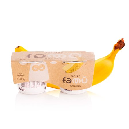 Yogurt alla Banana 2x125g