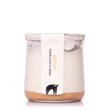 Yogurt con Latte di Bufala ai Cereali  150g