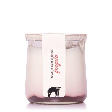 Yogurt con Latte di Bufala alla Fragola  150g