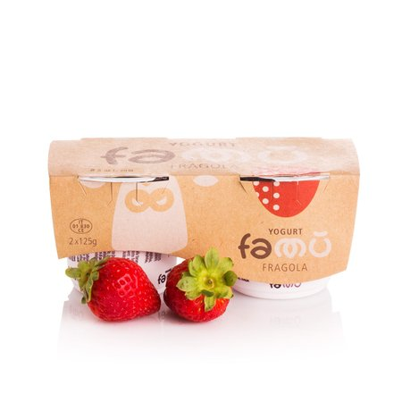 Yogurt alla Fragola  2x125g
