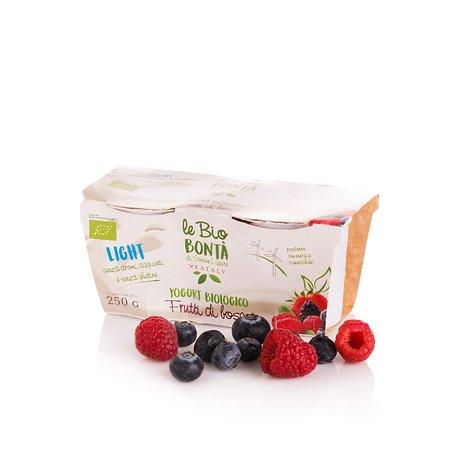 Yogurt Magro ai Frutti di Bosco Bio 2x 250g