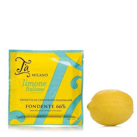 Tavoletta di cioccolato aromatizzata al limone 50g