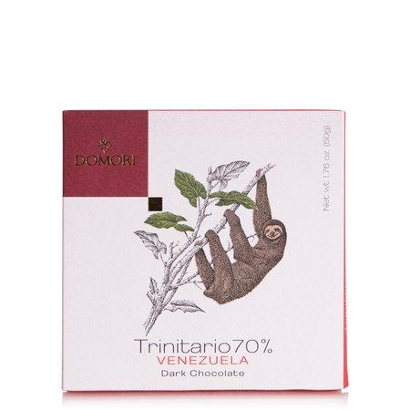 Tavoletta di Cioccolato con Cacao Trinitario 70% Venezuela 50g