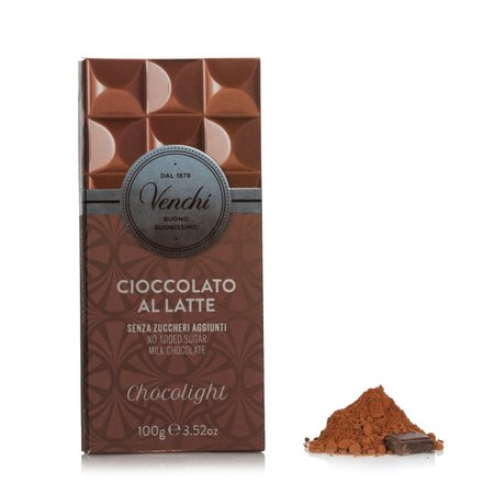 Tavoletta Chocolight Latte Superiore 100g